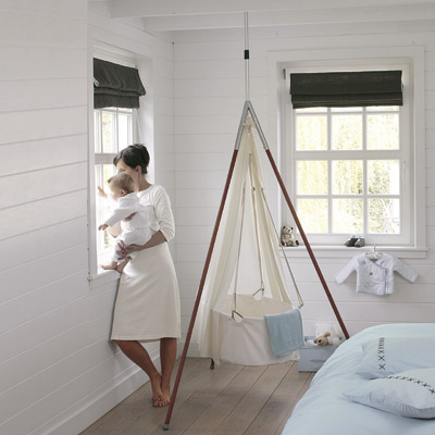hanging bassi s on trend chic elegant space saving a hanging felt cradle inspired by the womb design milk  leander      rh   liuchao website