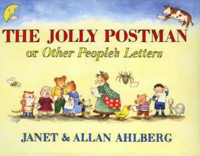 Book Of The Week The Jolly Postman Design Mom
