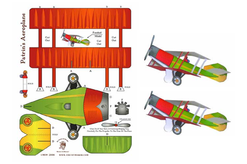 Check Out These Great Looking Make It Yourself Paper Toys