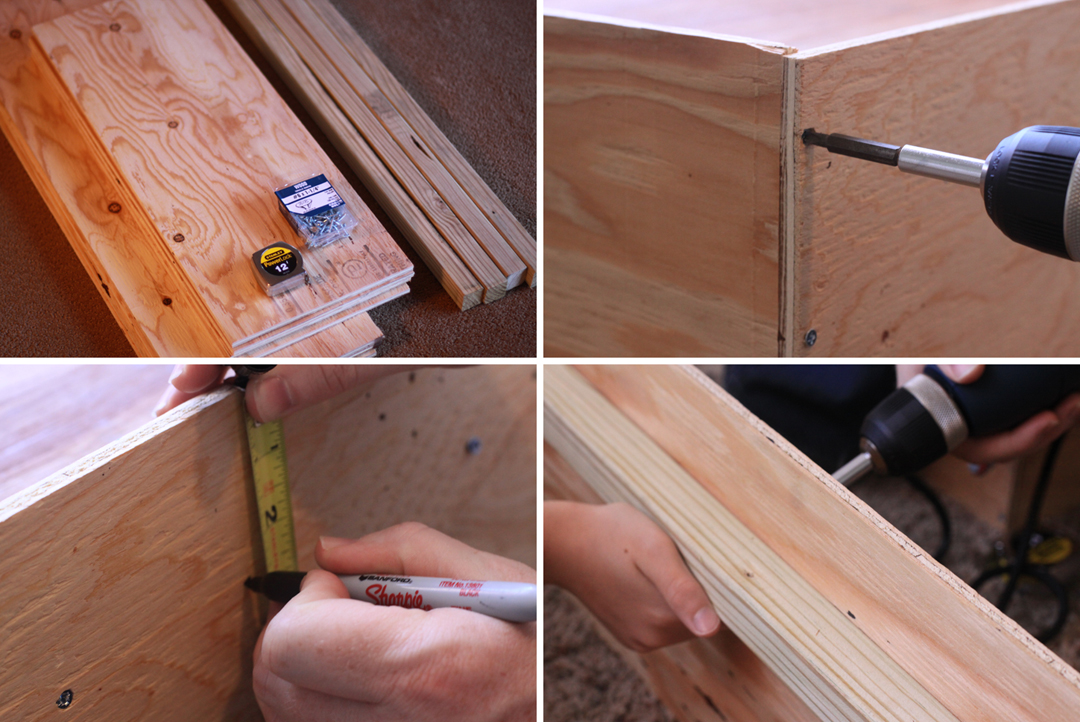 how to make a toddler tugging box