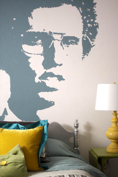 Napoleon dynamite design mom for Bedroom mural painting