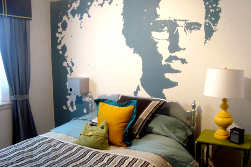 projector wall paintNapoleon Dynamite  Design Mom