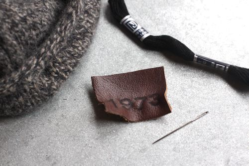 custom leather patch DIY