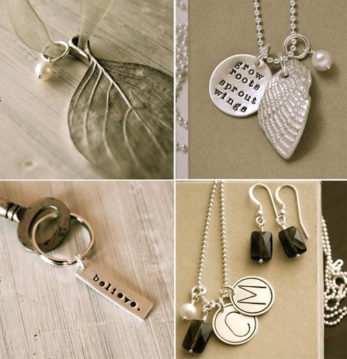 stamped jewelry custom Lisa Leonard Designs