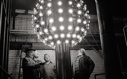 vintage new years times square ball