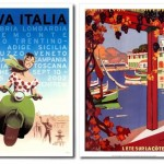italy nice travel poster vintage