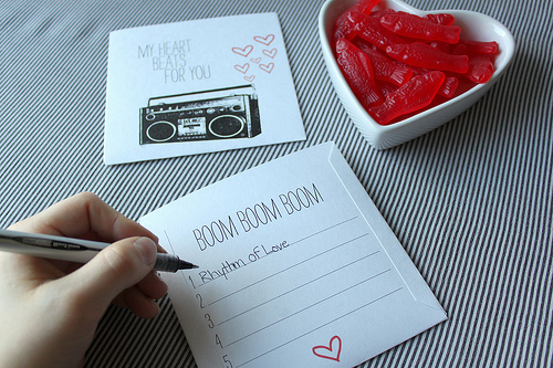 valentines day songs for kids playlist - Mix CD Valentine from Danyelle Mathews ⋆ Design Mom