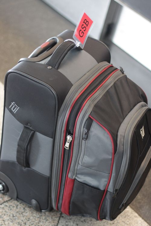 ful carryon with backpack