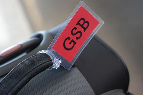 laminated luggage tags