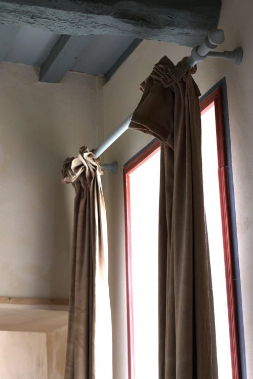 la cressonniere hallway curtains