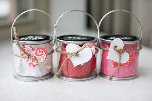 bucket mini valentines