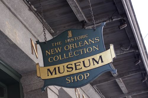 New Orleans Shop Sign