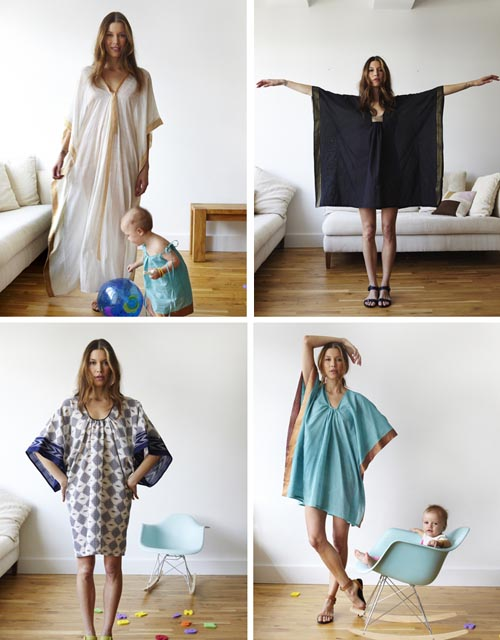 chic gorgeous caftans from Two New York