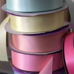 stack of ribbon