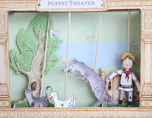 peter and the wolf puppet kit