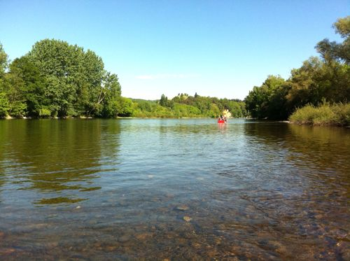 rafting on the dordogne