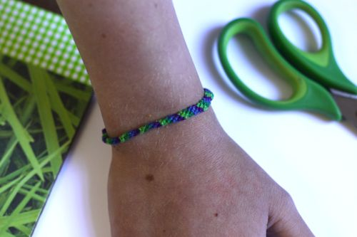 Friendship Bracelet How-to