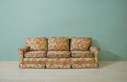 Couch Painting Holly Farrell