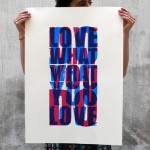 Do what you love what you do poster ConiLab