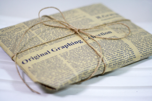 Ask Design Mom: Foreign Newspapers for Wrapping ⋆ Design Mom