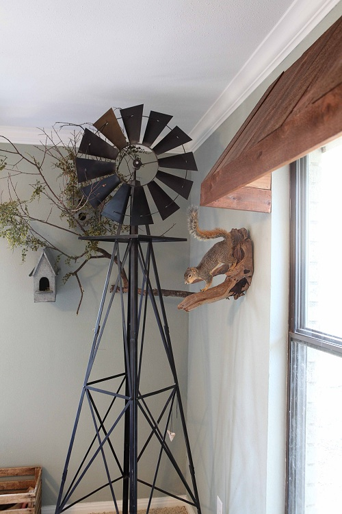 Bedroom dcor bedroom wall decorating ideas bedroom designs - Alfa Img Showing Gt Antique Windmill Used As Wall Art