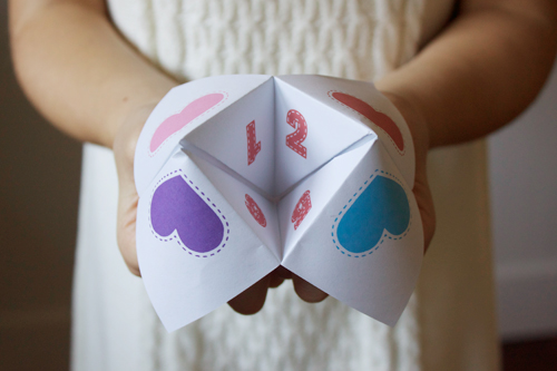 family proclamation cootie catcher we talk of christ we