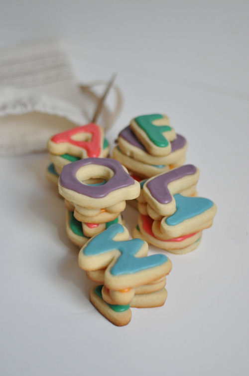 DIY Alphabet Cookies for Teacher