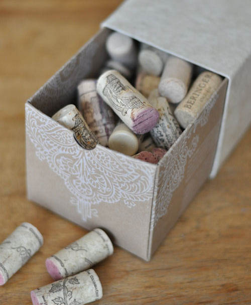 DIY: Carve wine corks into sweet stamps! via designmom.com