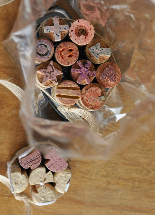 Cork stamps .4