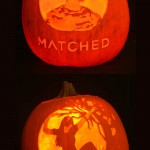 Matched and Crossed Pumpkins