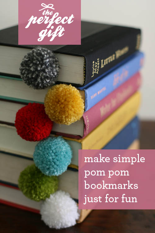 Yarn Ball Bookmark DIY So Easy All You Need Is amp Scissors