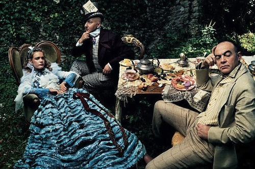Alice in Wonderland for Vogue 2003 by Annie Lebovitz