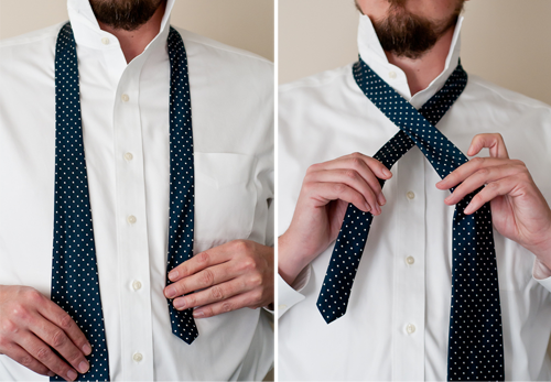 Living well 4 secrets to tying a necktie design mom it is also smaller than other knots and works well with traditional collars skinny ties and for shorter ties or tall men tie length is another topic for ccuart Gallery