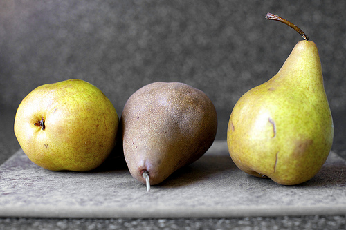 Pears via Smitten Kitchen