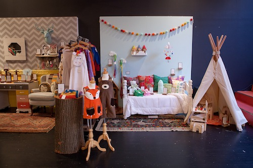 Kids at Etsy Pop-up Shop