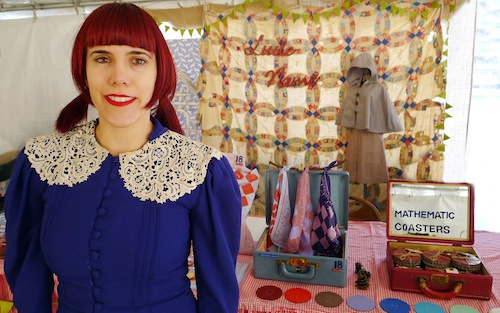 Alexis from Little Name Design @ Renegade Craft Fair Brooklyn