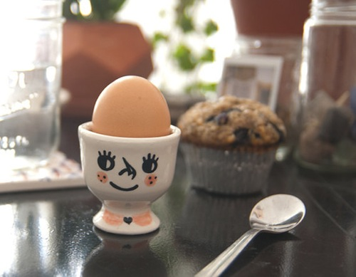 egg cup by Tuesday Bassen