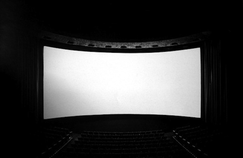American movie theaters shot by Hiroshi Sugimoto