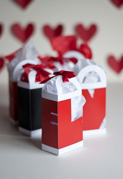 This little treat bag is just as simple to put together as the house gift  box from last month and absolutely perfect for all your Valentines. b2d95bdea