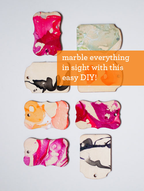 DIY: Marbling with Nail Polish ⋆ Design Mom