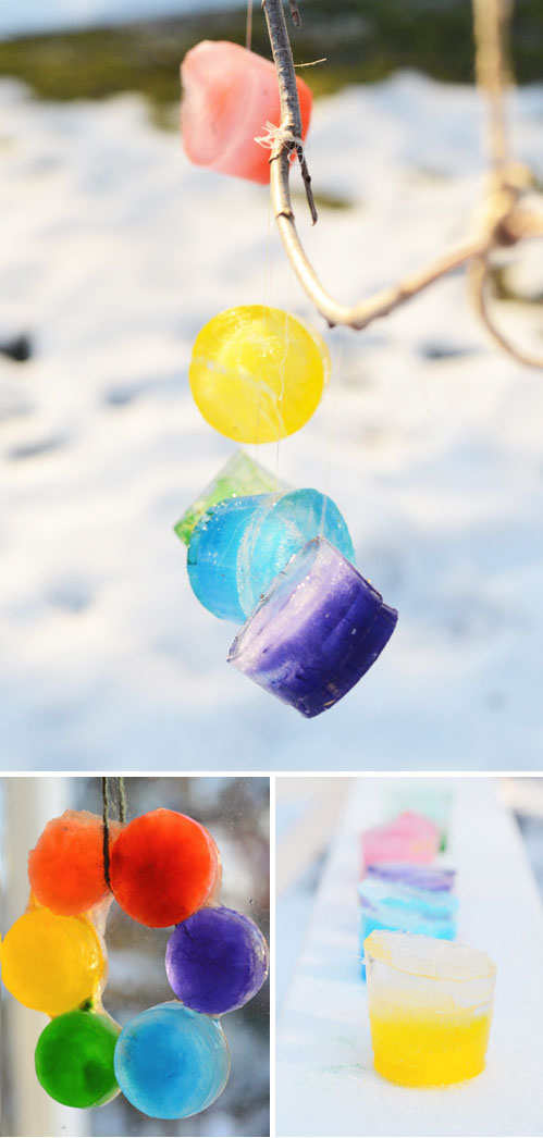 http://www.designmom.com/2013/02/big-small-diy-colored-ice-ornaments/