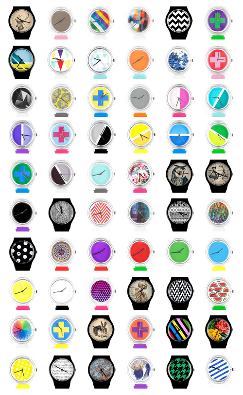 May 28th Watches - Cool designs. Or you can create your own with any Instagram image.
