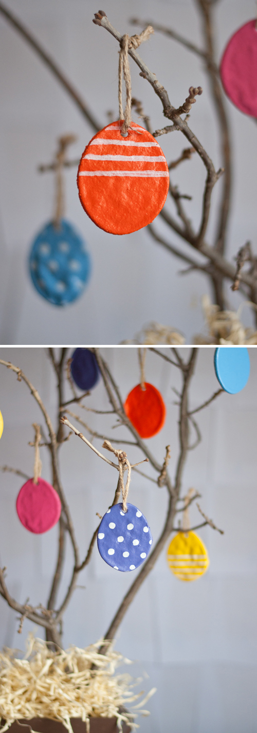 Salt dough easter eggs easy diy for long lasting ornaments i love the tradition of an easter tree a branch on which to hang eggs bunnies and colorful bits part of this batch of salt dough easter eggs will hang solutioingenieria Choice Image