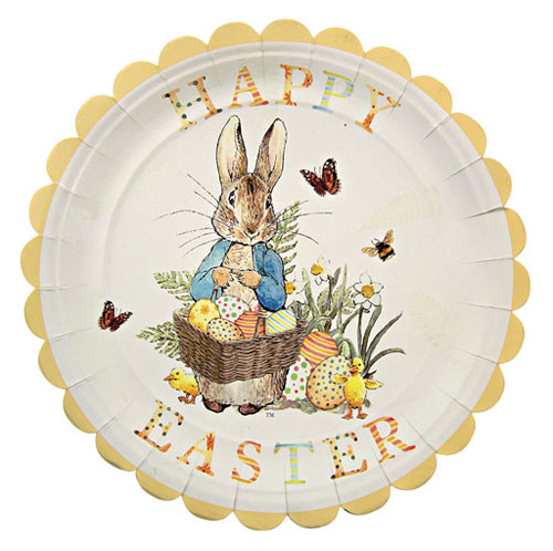 Easter paper plates by Meri Meri (plus cups, napkins, etc). So cute!