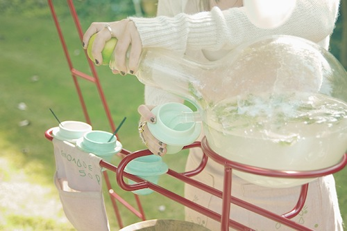 Grown-up Lemonade Stand