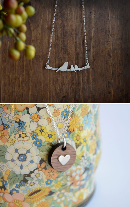 necklaces by figs & ginger