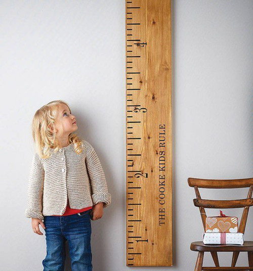 ruler height chart