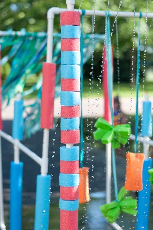 DIY: The COOLEST Tricycle Carwash. Follow these easy plans and have the best summer ever!  |  Design Mom
