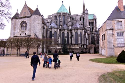 Visit to Chartres14