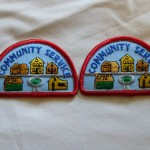 vintage brownie patches